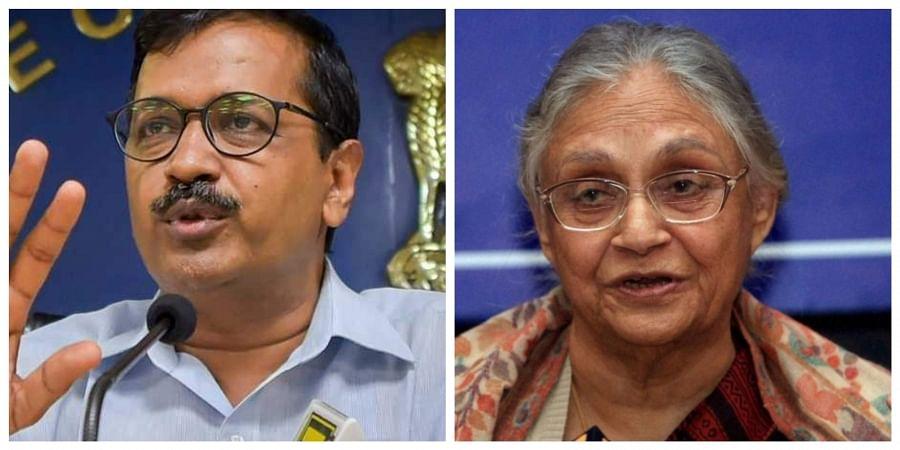 Sheila Dikshit, Arvind Kejriwal