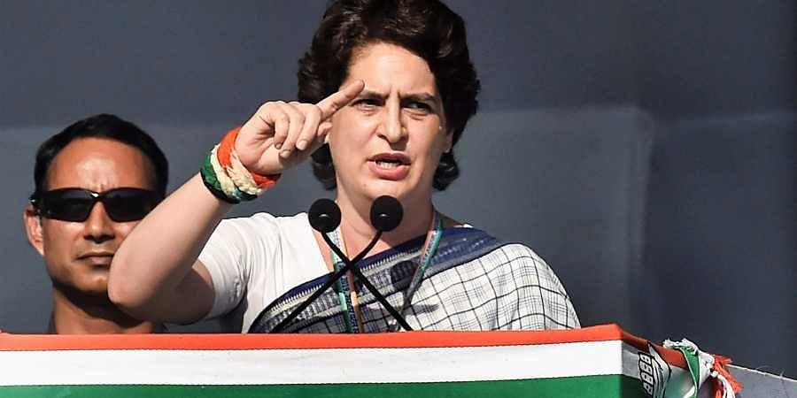Congress General Secretary Priyanka Gandhi