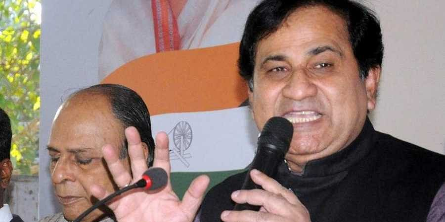 Congress leader and former Union Minister Shakeel Ahmad