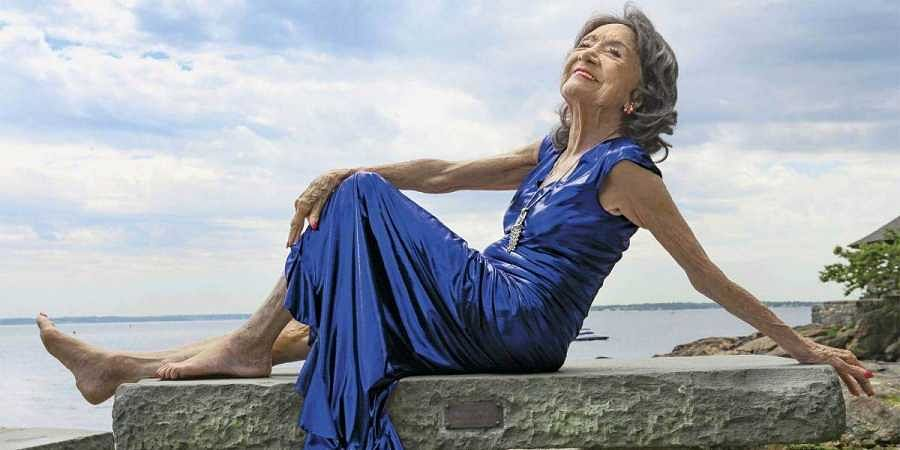 100-year-old India born yoga instructor Tao Porchon-Lynch keeps moving, dancing