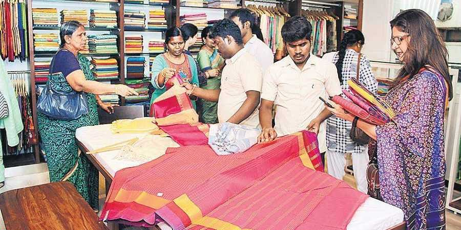 Palam Silks launches Mylai branch- The New Indian Express