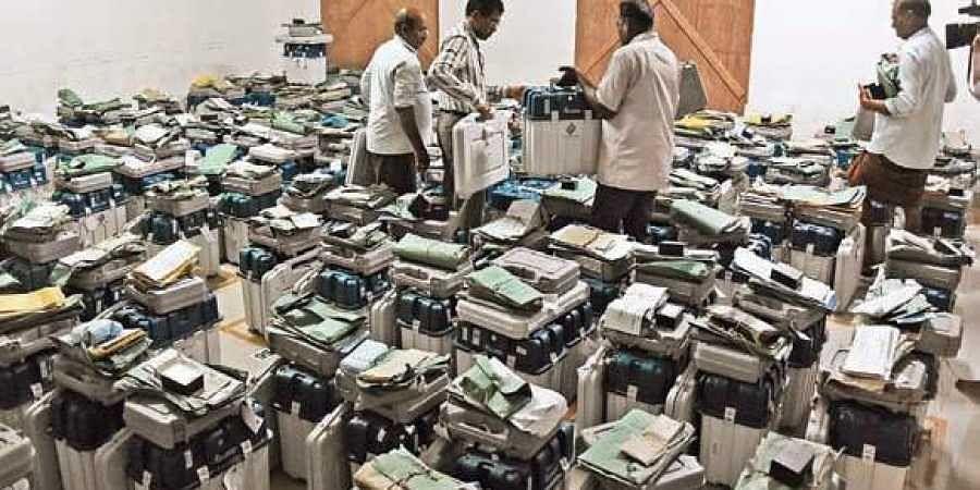 Ballot box, Lok Sabha elections