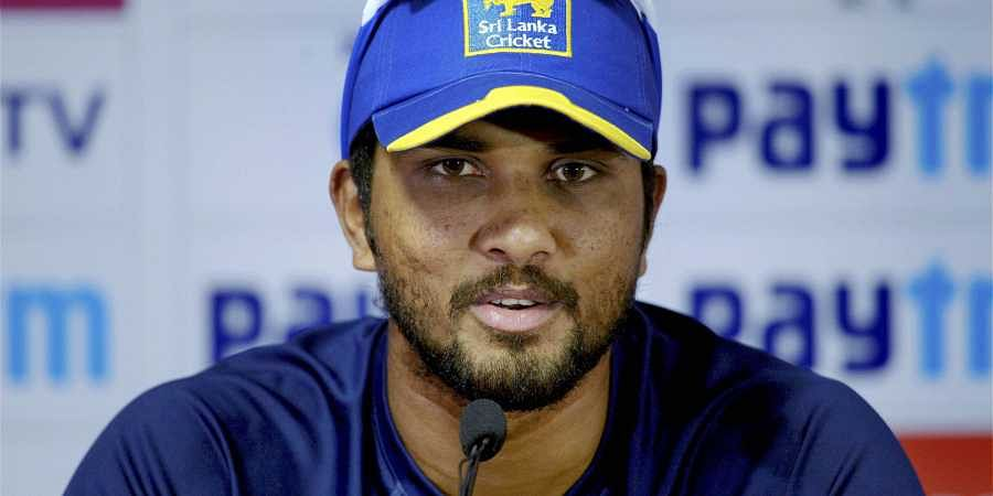 Sri Lankan cricketer Dinesh Chandimal