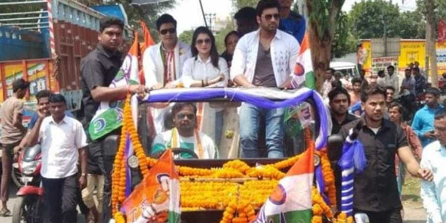 Bangladeshi Actor Ferdous Ahmed Campaigned for TMC in West Bengal