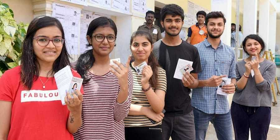 Image result for indian election first time voters