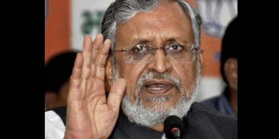 Bihar Deputy CM Sushil Kumar Modi