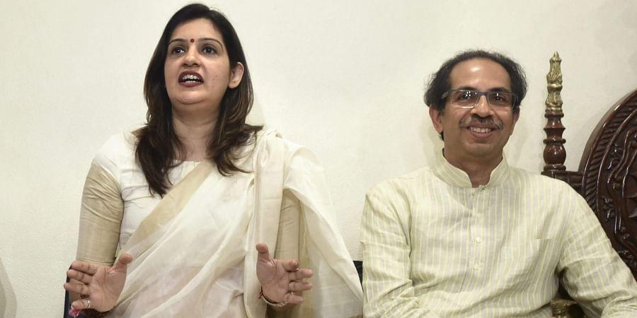 Priyanka Cahturvedi, Uddhav Thackeray