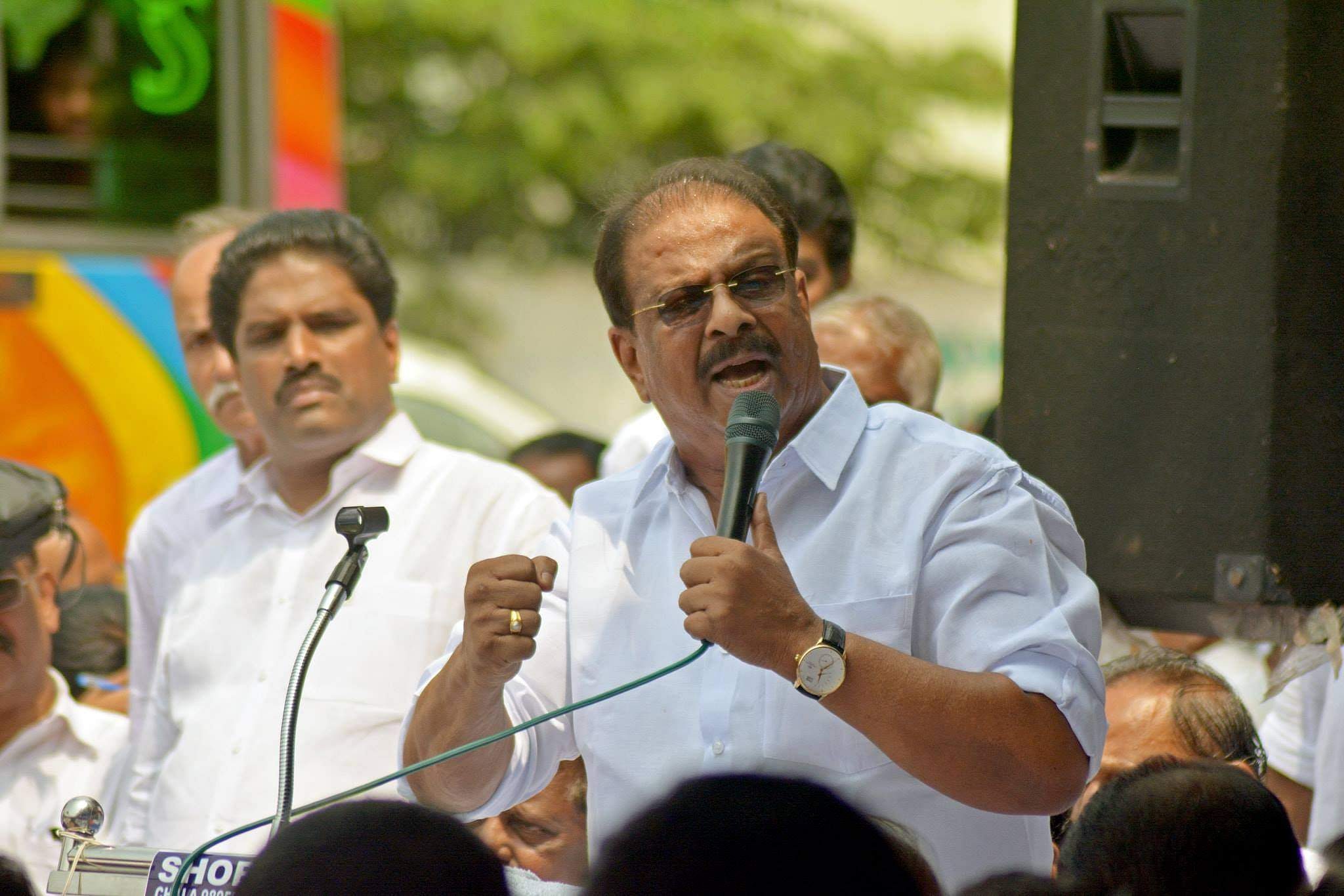 Image result for K Sudhakaran congress candidate