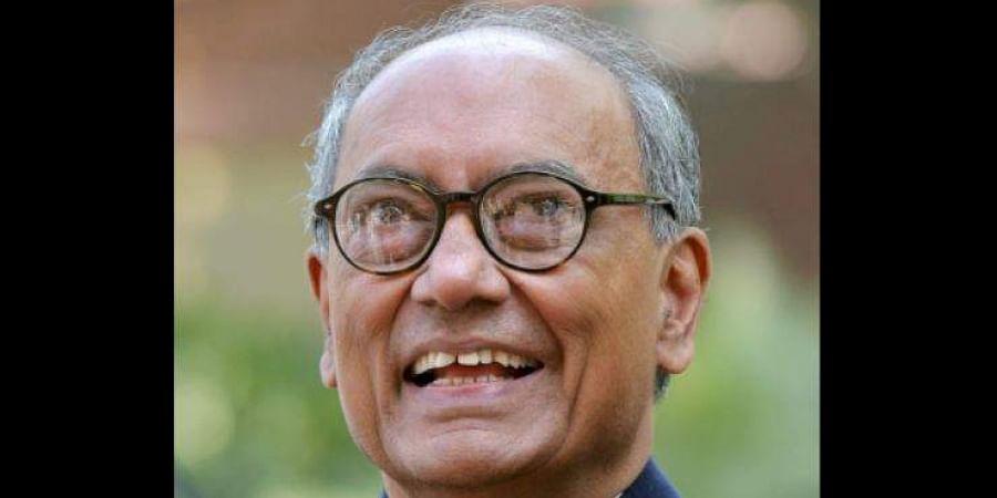 Former Madhya Pradesh CM Digvijaya Singh