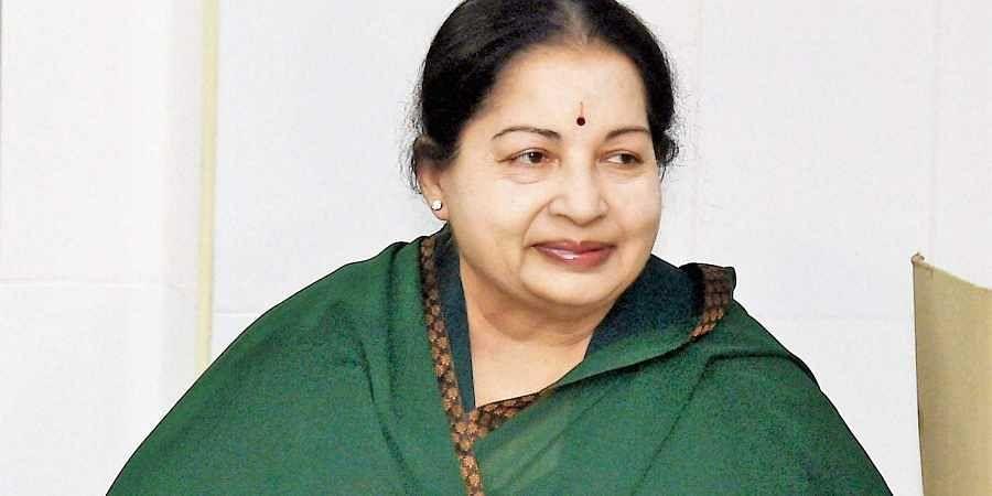 Late Tamil Nadu CM Jayalalithaa