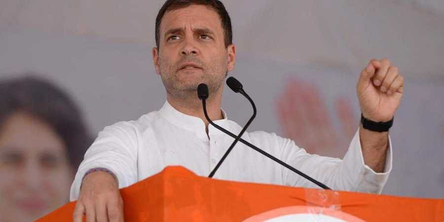 Rahul Gandhi expresses regret over his remarks on Rafale verdict in SC