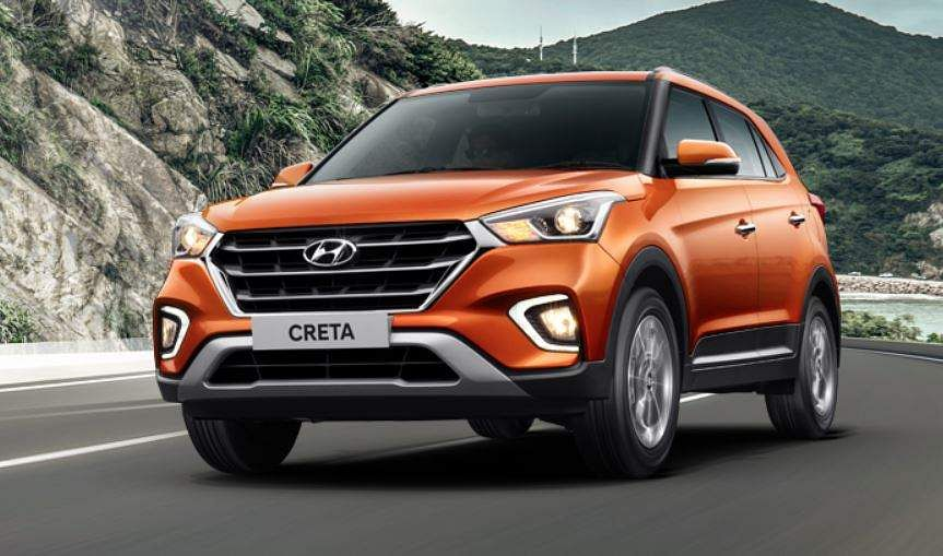 Hyundai's popular SUV - Creta was at the eighth position with a total sale of 1,24,300 units. The model was at the ninth spot in 2017-18 when it registered sales of 1,07,136 units. (Photo | Hyundai official website)