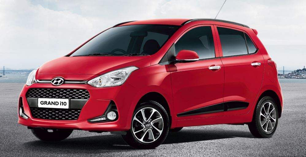 The seventh position in 2018-19 was occupied by Hyundai's entry level car - Grand i10 - with sale of 1,26,041 units, moving down from sixth position in the previous year when it sold 1,51,113 units. (Photo | Hyundai official website)