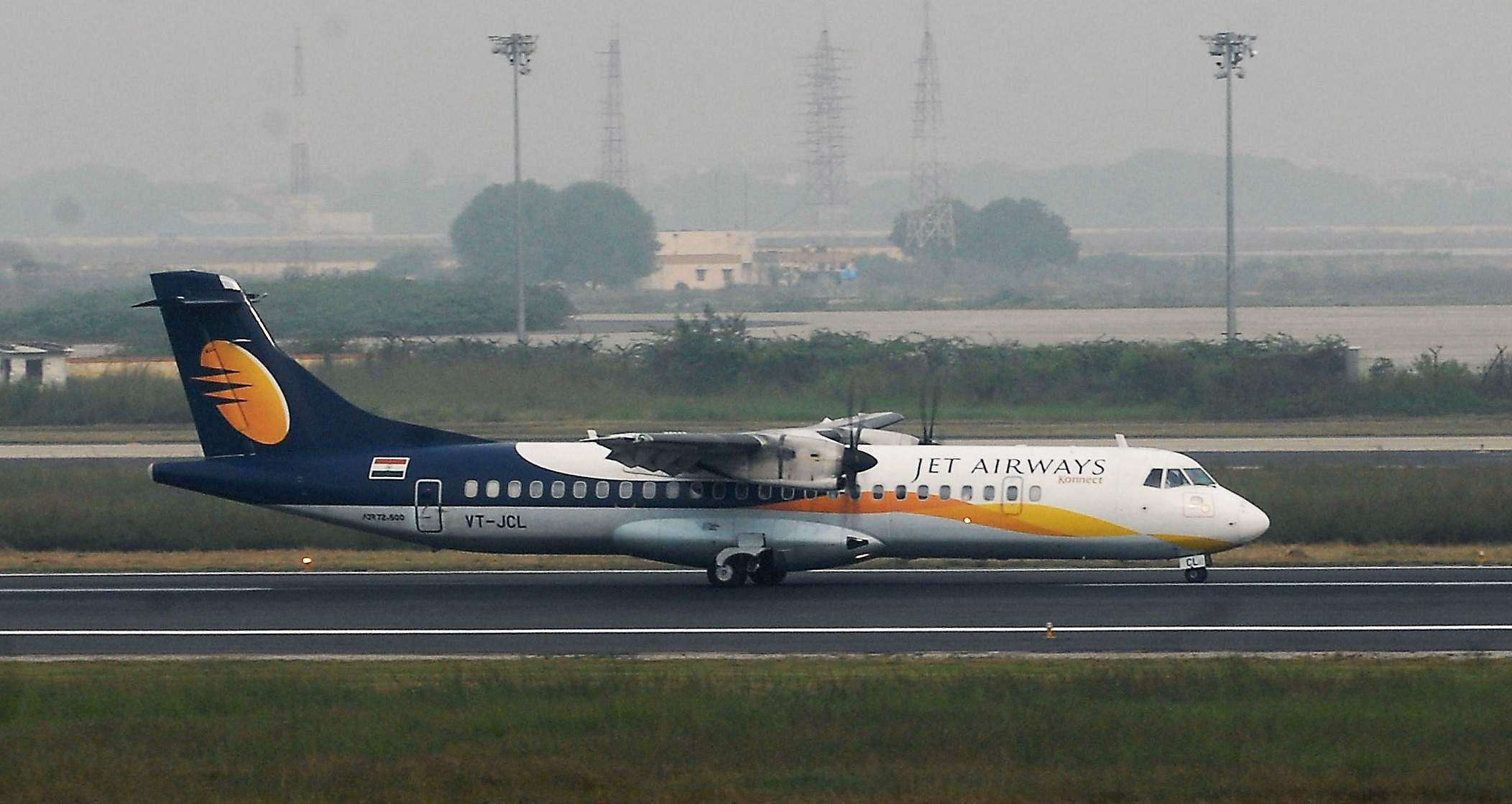 Jet Airways (Defunct 2019): Jet Airways was incorporated on 1 April 1992 by Naresh Goyal and his children; Nivaan Goyal and Namrata Goyal. In the third quarter of 2010, it became the largest airline in India with a passenger market share of 22.6%. In November 2018, Jet Airways was reported to have a negative financial outlook due to increasing losses. The airlines flew its last flight  from Amritsar to Mumbai on April 17 after lenders declined to hand out emergency funds. Now, it's unclear if the airline will ever return to the skies, but if it does so, it will be under a new ownership structure.  (File Photo   EPS)