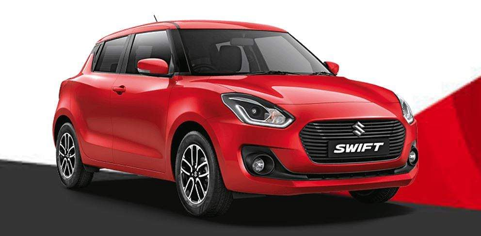 Maruti Suzuki's Swift moved up a spot to the third position by selling 2,23,924 units in 2018-19 from fourth in 2017-18 when it clocked 1,75,928 units. (Photo | Maruti Suzuki official website)