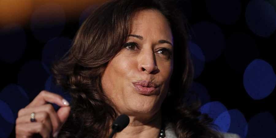 Democratic Presidential Candidate Sen. Kamala Harris