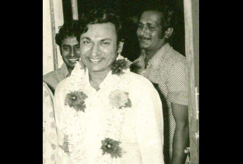 Actor Rajkumar during a function.