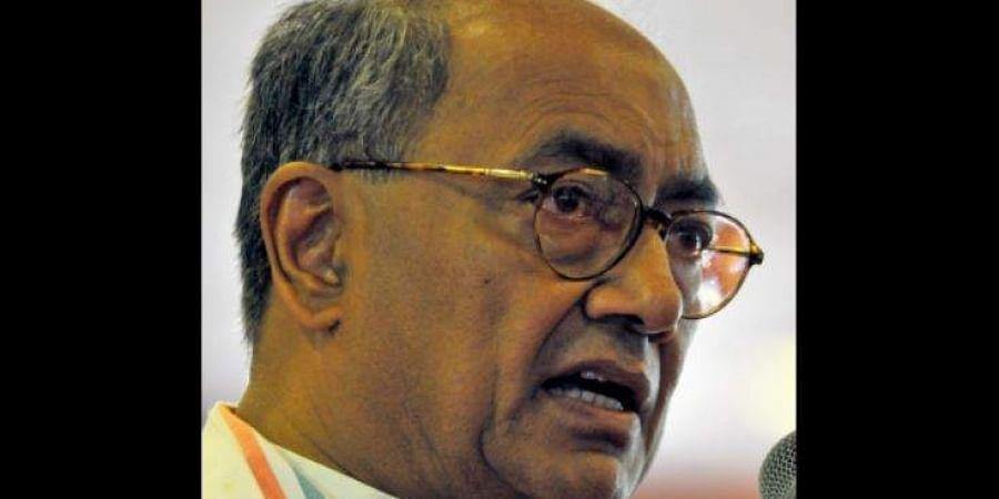 Former Madhya Pradesh CM DigvijayaSingh