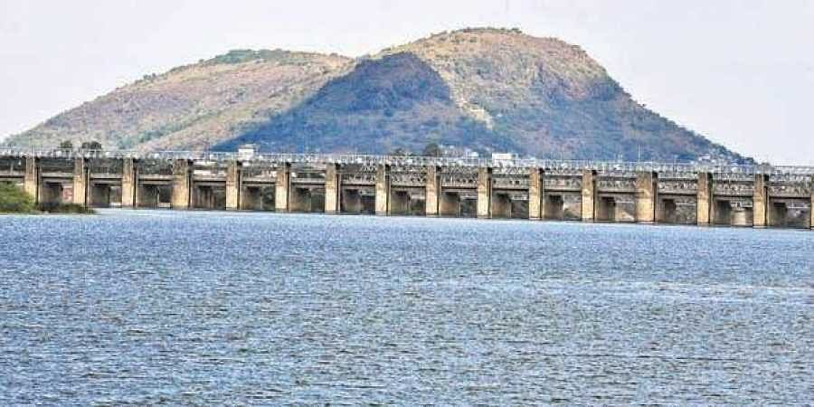 File photo of Prakasam barrage in Vijayawada