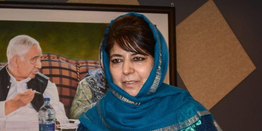 Former Jammu and Kashmir CMMehbooba Mufti