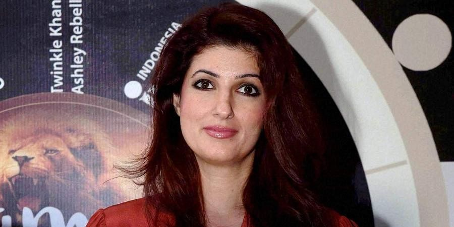 Actor-turned-author Twinkle Khanna