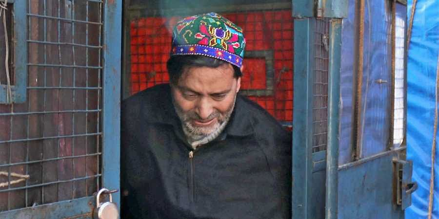 JKLF chief Yasin Malik