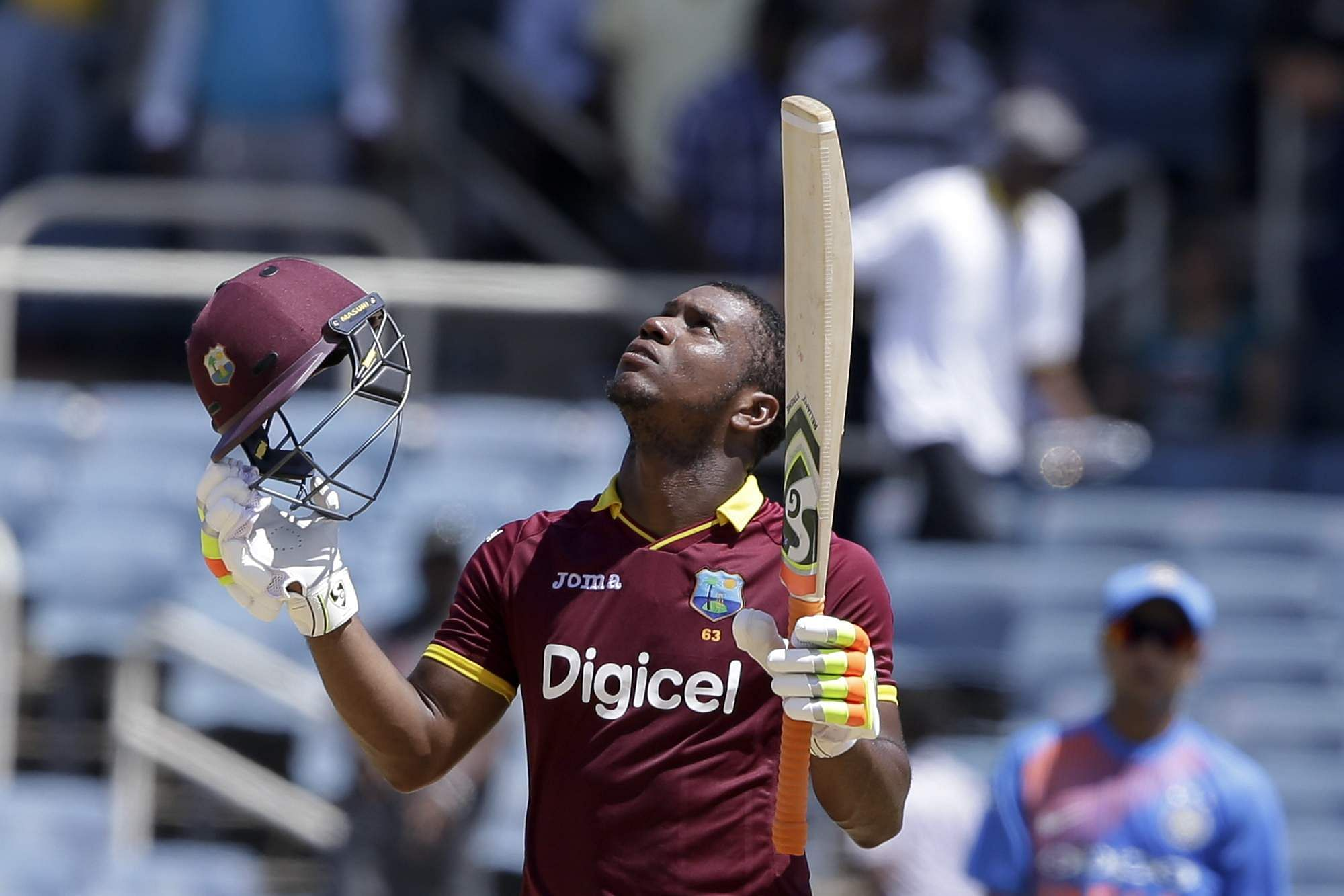 West Indies' Evin Lewis. (File | AP)