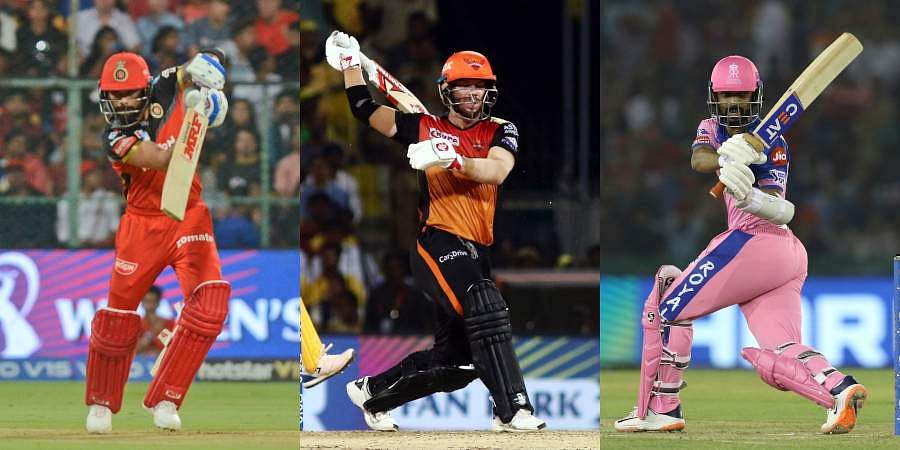 With the IPL 2019 in its fifth week, many batsmen from various franchises have put up a commendable show to help their team register some memorable wins. Let us take a look at the top 10 run getters in this season as of 25th April.