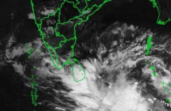 Latest image of cyclone Fani as per IMD website.