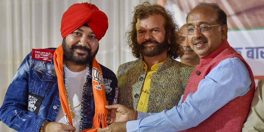 Singer Daler Mehndi joins the BJP party
