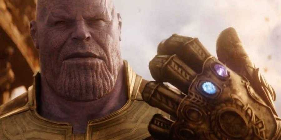 Search 'Thanos' on Google and click on his Infinity Stone-studded gauntlet.