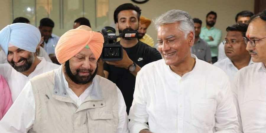 Amarinder Singh, Sunil Jakhar