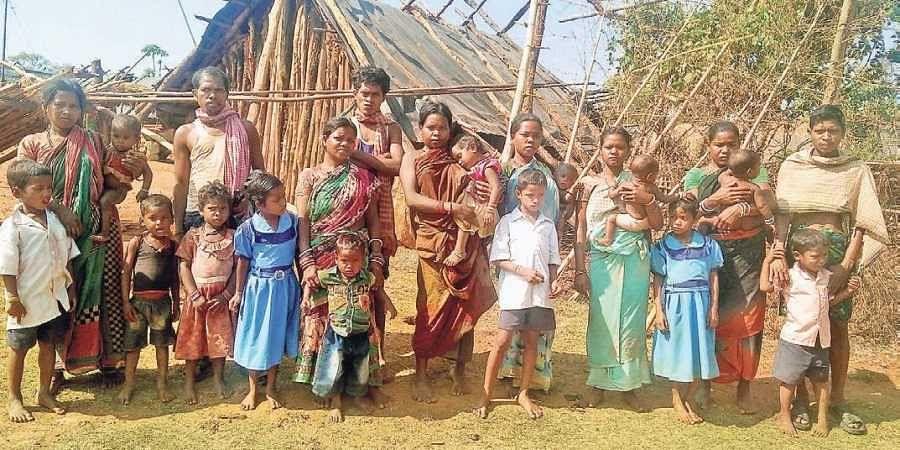 Villagers of Nagada in Jajpur district
