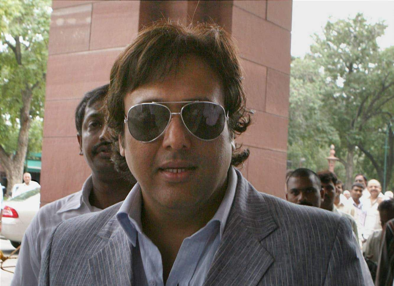 Govinda - The Bollywood actor was elected on a Congress ticket from Mumbai North seat in the 2004 general elections. He remained a MP till 2008 but quickly resigned as he was absent both in parliament and his constituency due to his film career despite not doing many films.