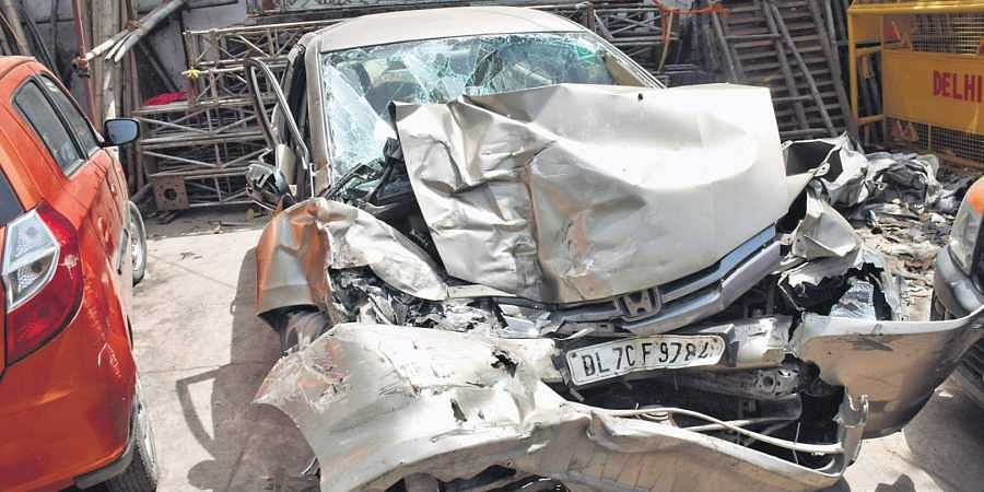 Accident near South Ex: Two killed, one hurt- The New Indian Express