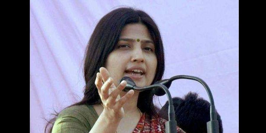 SP chief Akhilesh Yadav's wife and Kannauj Lok Sabha candidate Dimple Yadav