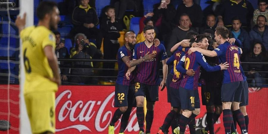 Messi Grabs Brace as Barcelona Beats Espanyol, Extends La Liga Lead