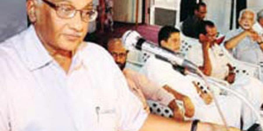 CPM leader S Ramachandran Pillai