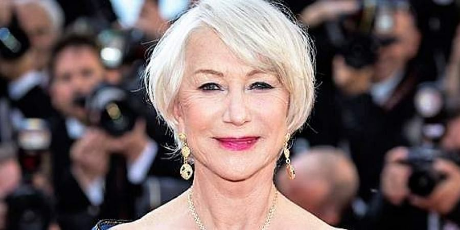 Legendary actress Helen Mirren