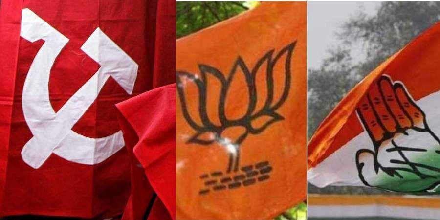 CPI(M), BJP, Congress