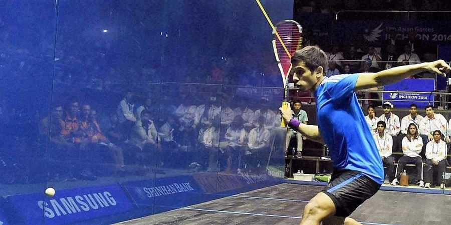 Indian squash Saurav Ghosal
