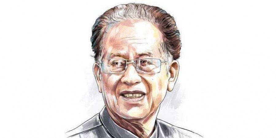 Former Assam Chief Minister Tarun Gogoi (Express Illustration)