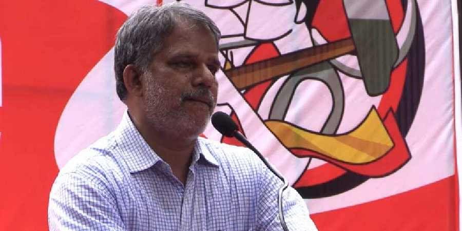 LDF convener A Vijayaraghavan