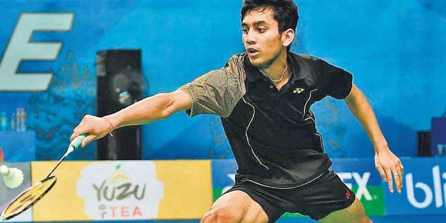 Indian badminton star Lakshya Sen