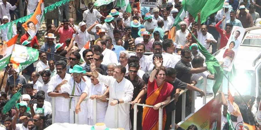 Rahul Gandhi in Wayanad