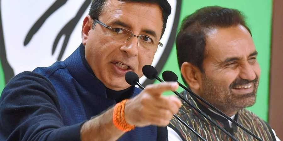 Randeep Surjewala, AICC, Congress
