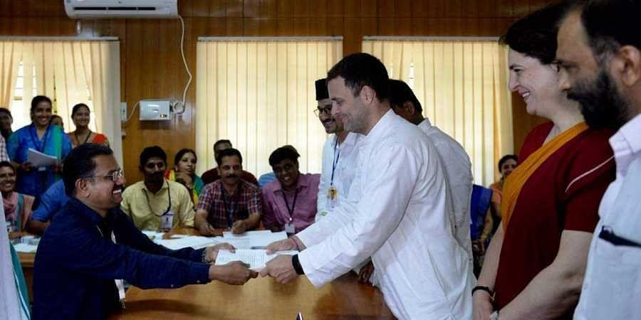 Rahul Gandhi files nomination to contest Wayanad Lok Sabha seat