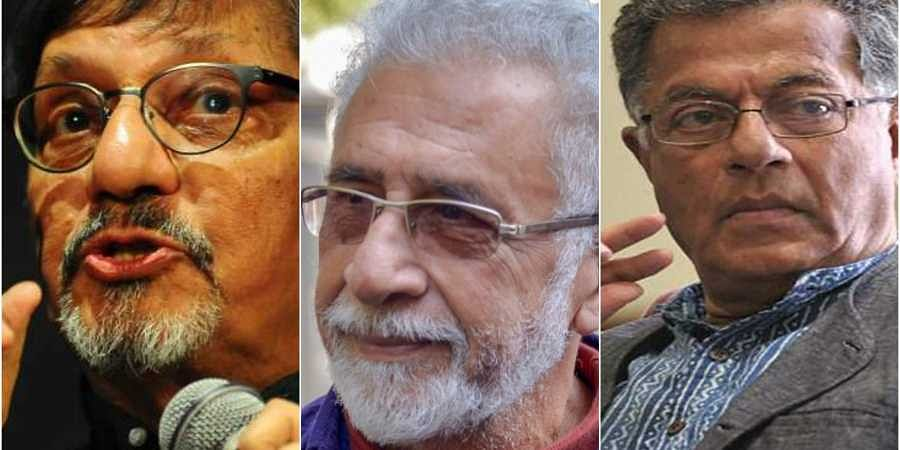 Image result for Over 600 theatre artists including Naseeruddin Shah ask citizens to vote against BJP, its allies