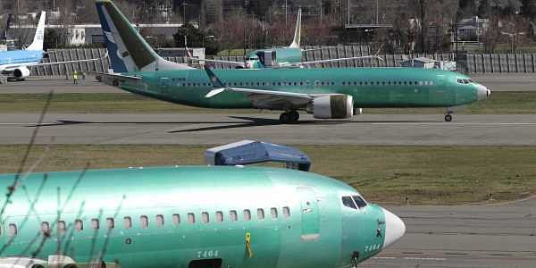 Boeing 737 Max 8 being built for Oman Air