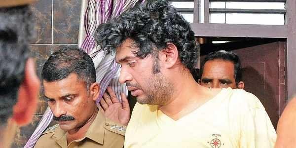 Arun Anand, Thodupuzha assault case accused, being taken for evidence gathering at Kumaramangalam